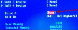 Как исправить floppy disk fail 40