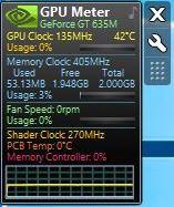Определение температуры видеокарты