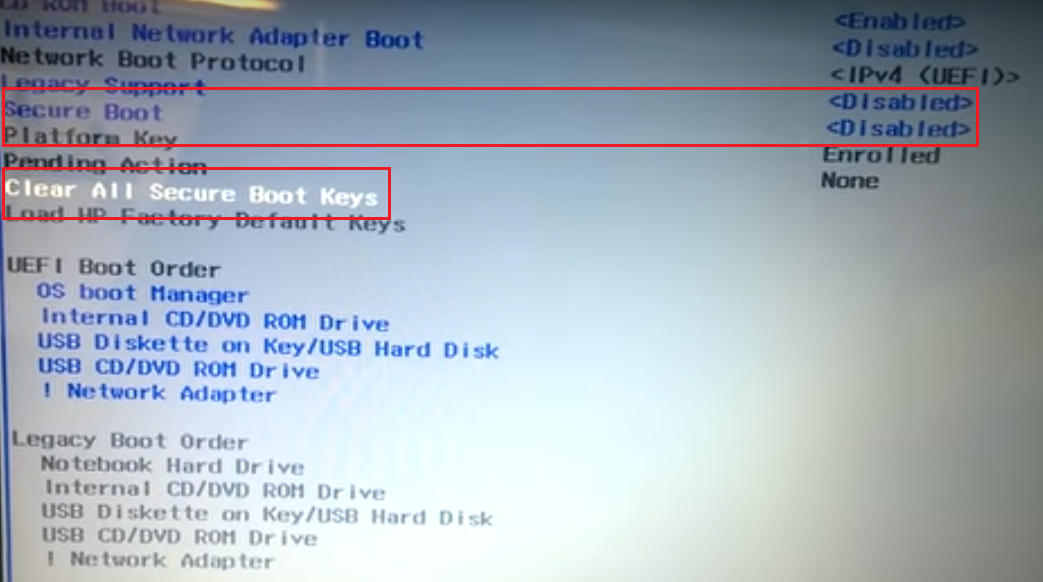 Boot device not found что делать HP? | HelpAdmins ru