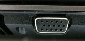 подключение монитора или телевизора к ноутбуку через vga