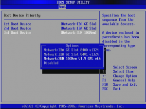 network boot в биосе что это