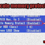 No execute memory protect что это