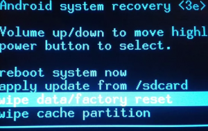 "Как исправить ""Select boot mode volume up to select volume down is ok"""