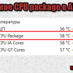 CPU package что это
