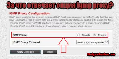 что такое igmp proxy