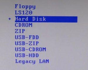 какая разница между USB HDD и USB FDD