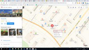 как узнать широту и долготу объекта по яндекс карте