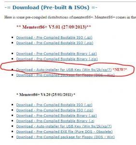 программа для проверки оперативной памяти