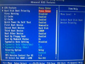 как убрать disk boot failure insert system disk and press enter
