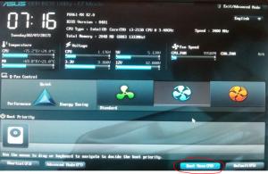 Как настроить биос для установки windows 7 с флешки