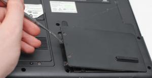 Чёрный экран при включении ноутбука что делать