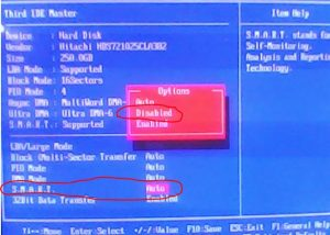 что значит Smart status bad backup and replace