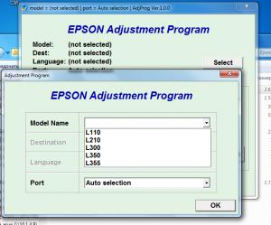 программа для сброса памперса epson