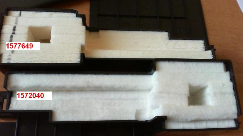 Срок службы впитывающей чернила подкладки принтера истек