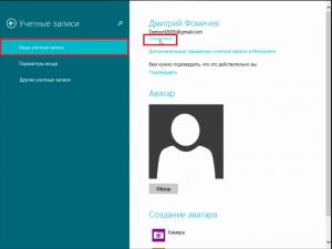 отключить пароль при загрузке windows 8.1