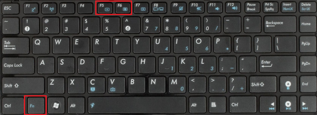 Почему не работает кнопка fn на ноутбуке