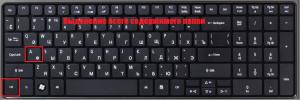 как выделить все файлы в папке с помощью клавиатуры