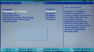 virtualization technology в биосе что это