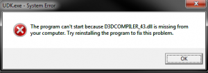 d3dcompiler 43 dll что это за ошибка как исправить