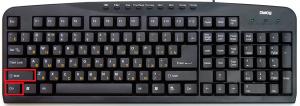 как на компьютере перевести клавиатуру на английский язык