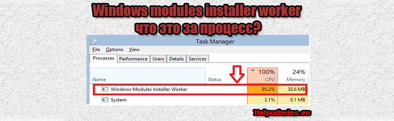 windows modules installer worker грузит процессор windows 10