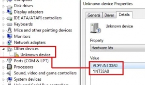 acpi int33a0 или intel smart connect technology driver что это