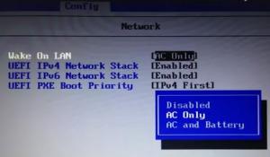 Что такое Wake on lan в BIOS