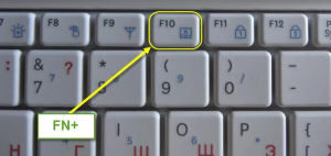 выключаем экран когда ноутбук работает