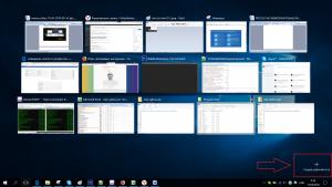 Как переключаться между рабочими столами в windows 10