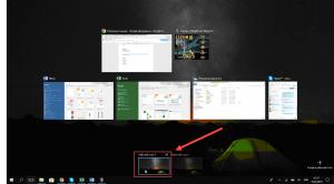 Переключение между рабочими столами в Windows 10