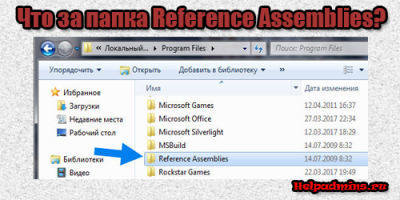программа Reference Assemblies