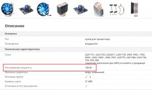 Что такое TDP процессора/видеокарты?