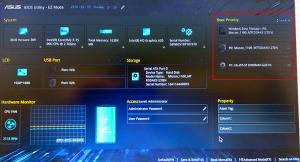 аналог Boot device priority в bios