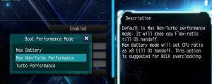 Описание функции в BIOS