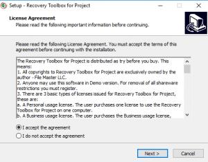 как восстановить поврежденный файл Microsoft Project