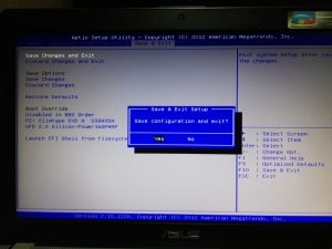 что нужно поменять в настройках BIOS ноутбука asus чтобы он загрузился с флешки
