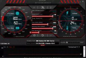 параметр Power Limit в MSI Afterburner и за что он отвечает