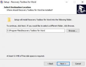 Утилита восстановления поврежденных документов Microsoft Word