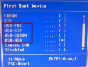 чем отличаются USB HDD и USB FDD