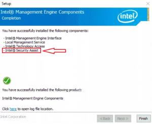 что такое Intel Security Assist