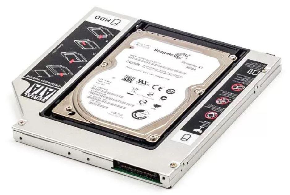 как в ноутбук дополнительно установить SSD