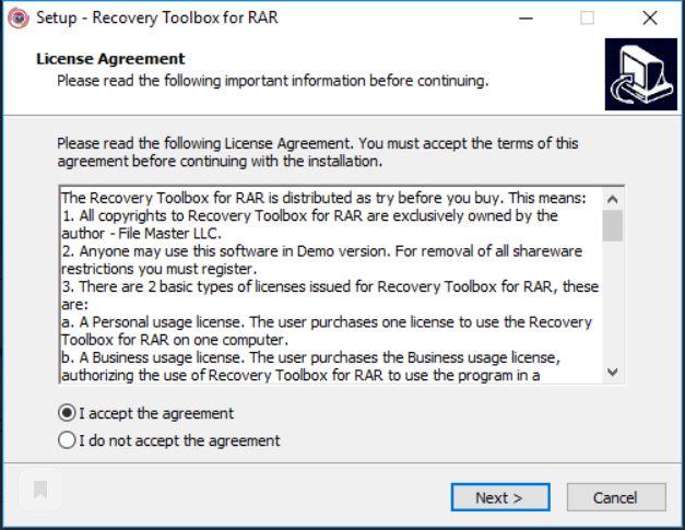 Как восстановить RAR файл