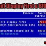 "Для чего нужна опция ""Init display first"" в BIOS"