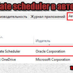 Java update scheduler в автозапуске