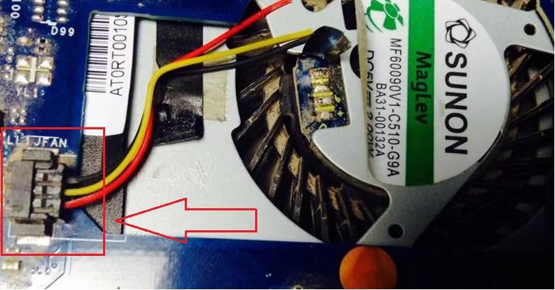 system fan 90b error when loading hp