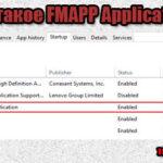 FMAPP Application что это в автозагрузке?