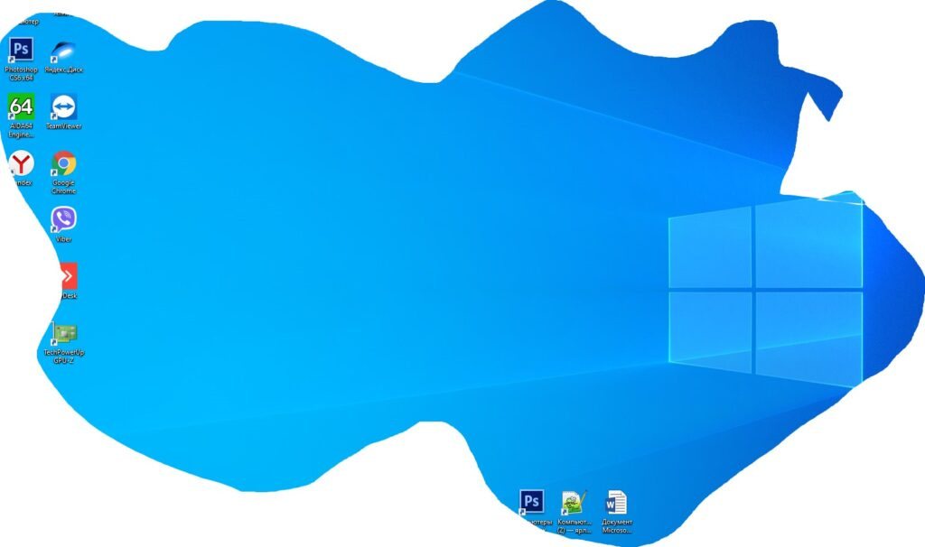 что за программа Набросок на фрагменте экрана в windows 10