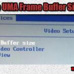 UMA Frame Buffer Size в биосе